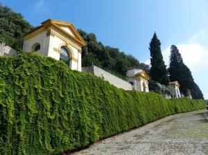 Monselice mit den sieben Kapellen