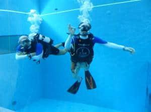 Das tiefste Tauchbecken der Welt