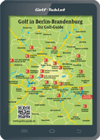 Berlin/Brandenburg Karte Golf
