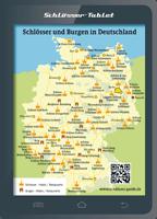 Übersichtskarte Deutschland für Schlösser