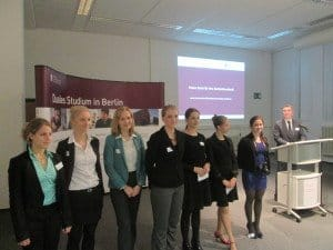 Tourismusstudenten der Hochschule für Wirtschaft und Recht Berlin