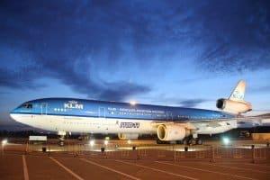 KLM-Abschiedsflug mit der MD-11