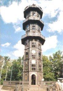"""Rundblick ins Lausitzer Land: 28 Meter hoch ist Löbaus """"Gusseiserner"""""""