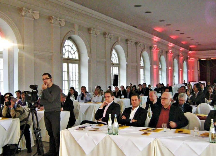 An dem gut besuchten Pressegespräch in der Großen Orangerie von Schloss Charlottenburg nahmen auch mehrere Reisejournalisten von CTOUR teil.