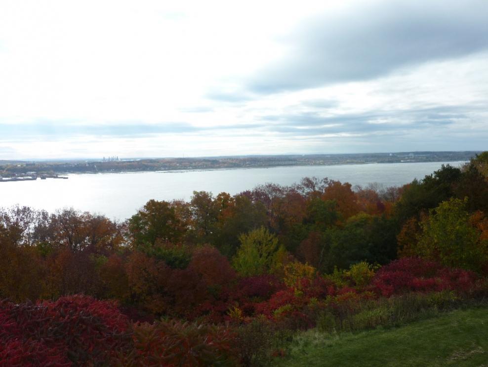 Herbstfarben am Lorenz-Strom