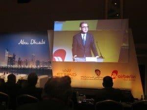 DRV-Präsident Norbert Fiebig auf der 64. Jahrestagung in Abu Dhabi Foto: Hans-Peter Gaul