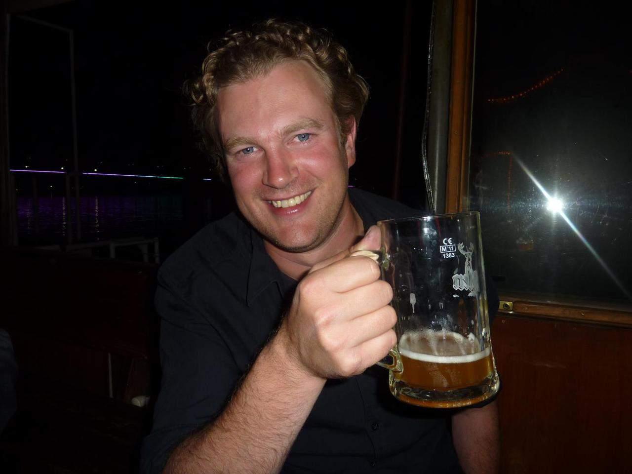 Der Party-Holländer Ralph van der Zijden