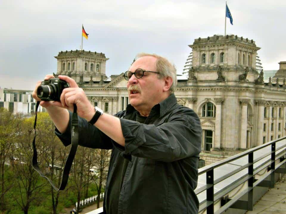 CTOURianer Bernd Siegmund immer in Aktion.