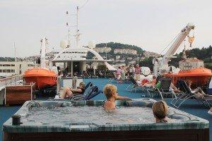 Whirlpoolfreuden bei Adria-Kreuzfahrt