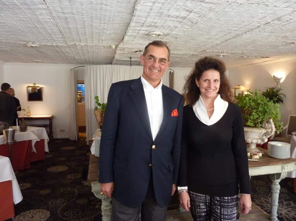Die Hotel-Inhaber Familie Clausing