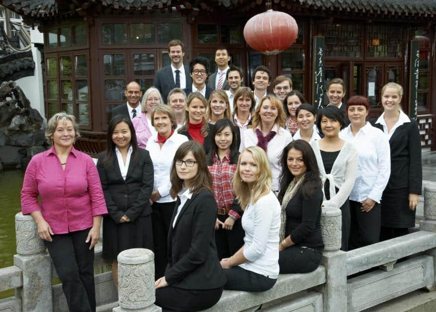 Das engagierte Team von China Tours