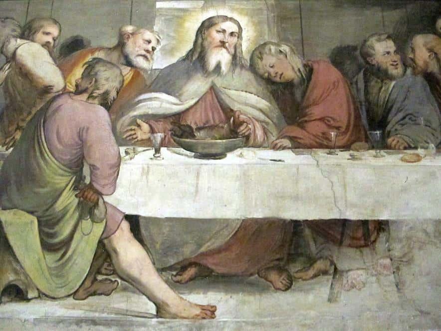 Ein echter Romanino in Pisogne.