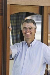 Hausboot-Pionier Harald Kuhnle