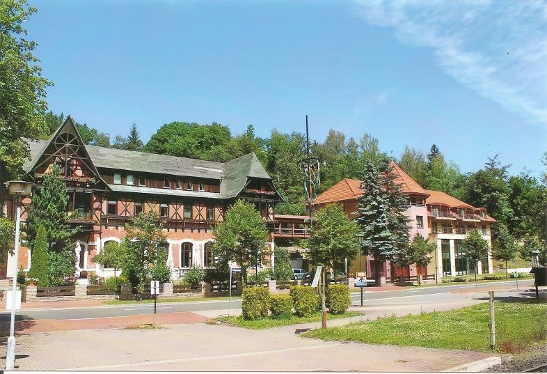 """Hotel """"Habichtstein"""" am Bahnhof Alexisbad"""