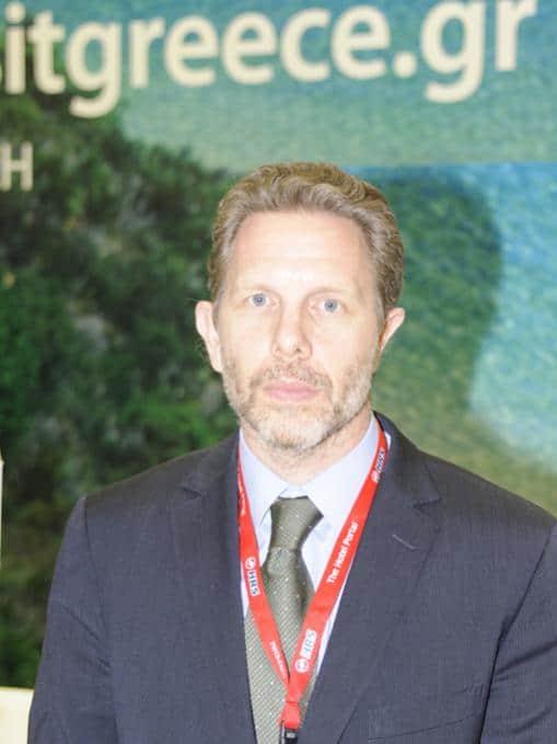 Tourismusminister Pavlos Yeroulanos