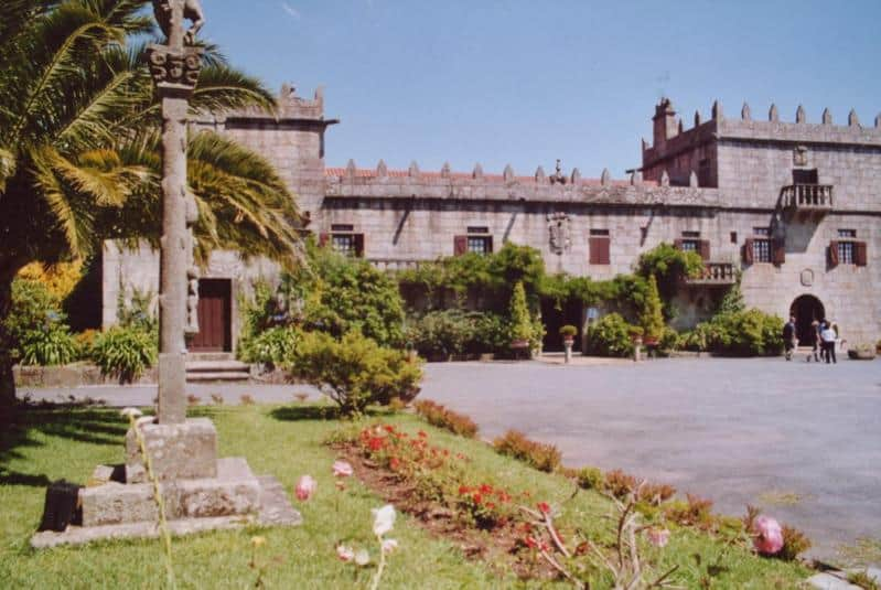 Parador in Galicien