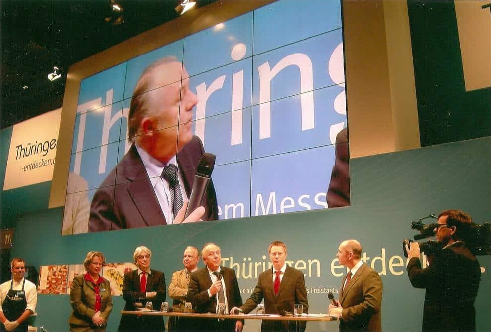 Thüringen entdecken: Wirtschaftsminister Matthias Machnig stellte neue Thüringen-Kampagne vor