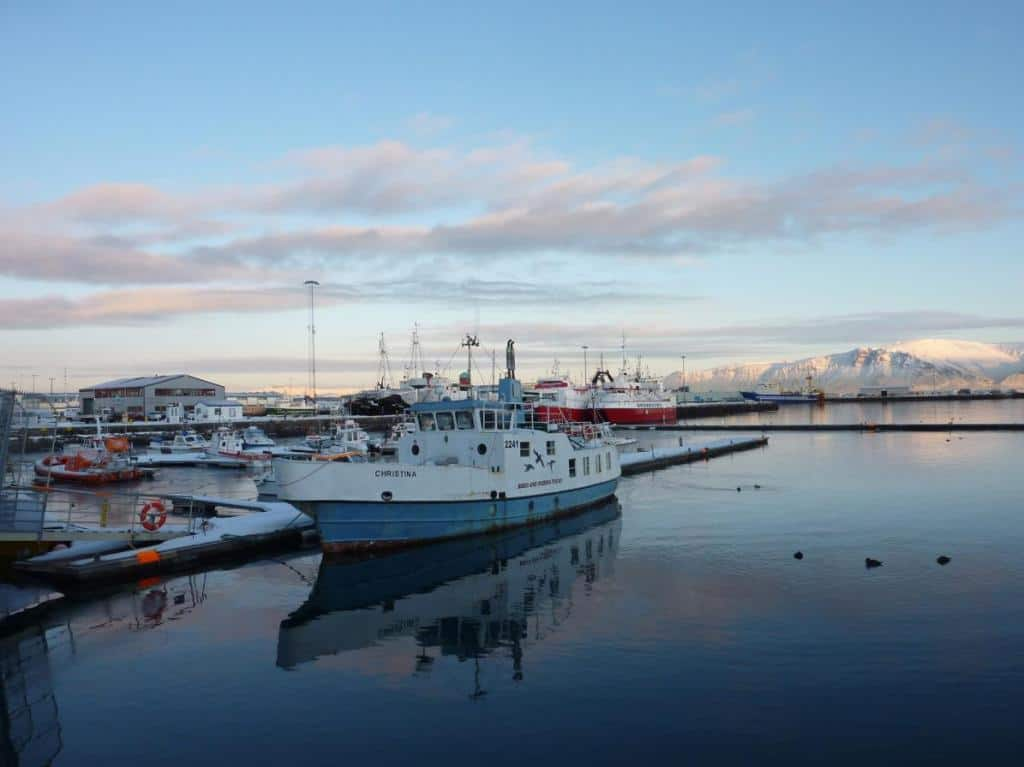 Der Hafen von Reykjavik