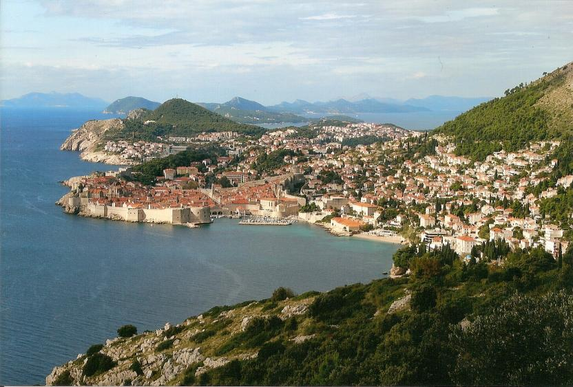 Perle der Adria: Panorama von Dubrovnik