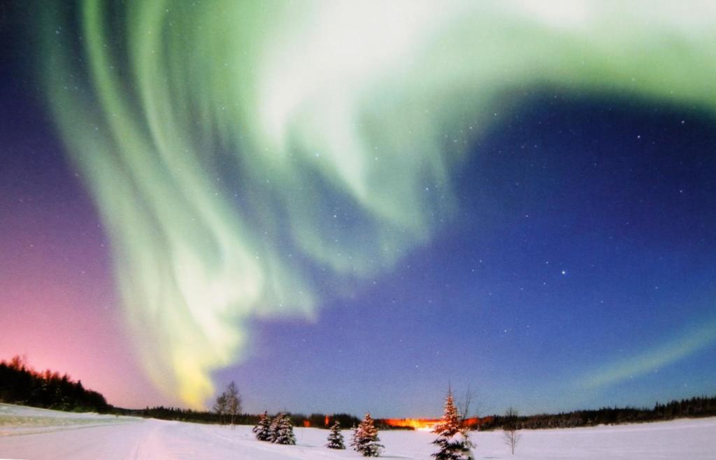 Nordlicht-Spektakel