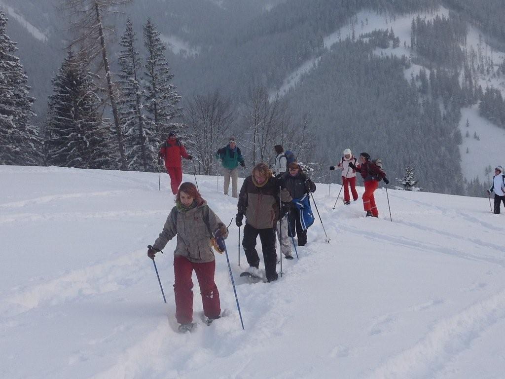 Schneeschuhwandern in Johnsbach