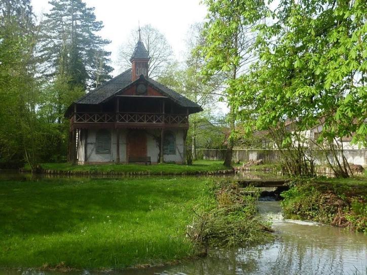 Schlosspark in Hirtzbach