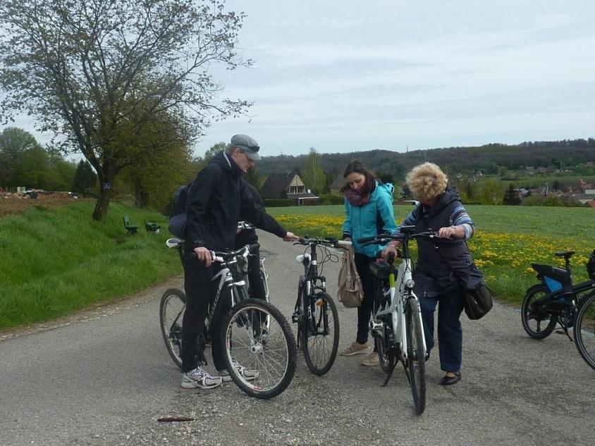 Radfahren auf verkehrsarmen Landstraßen