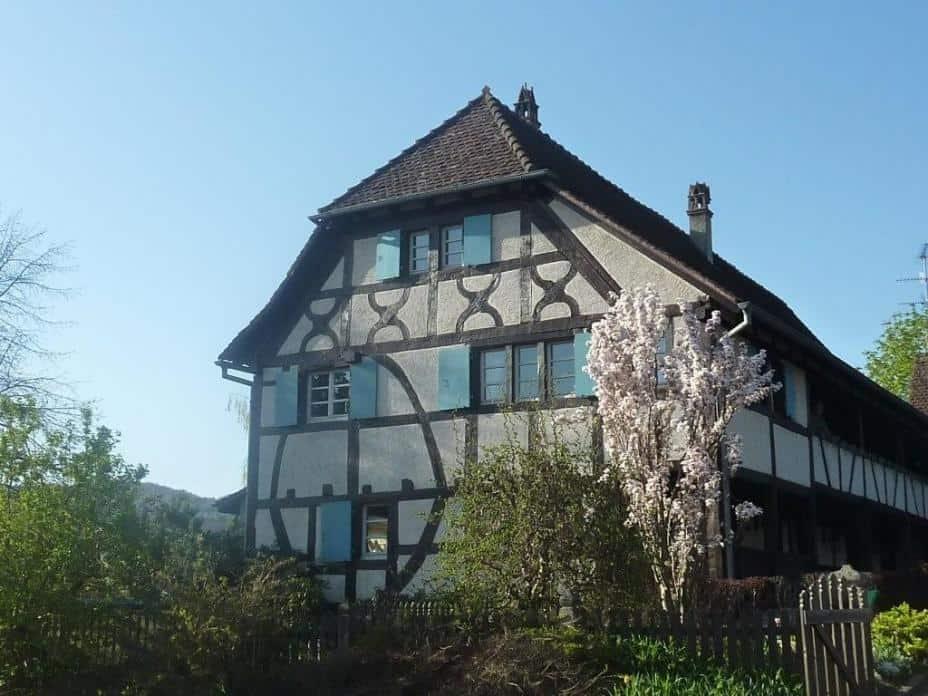 Typisches Fachwerkhaus