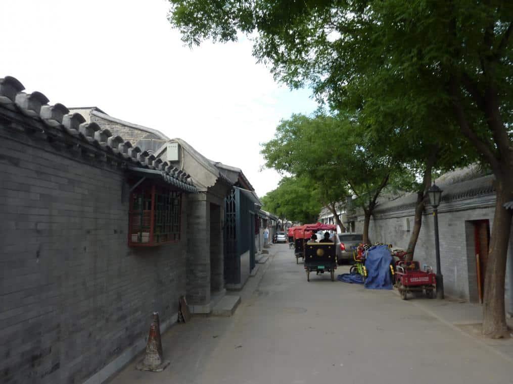 Mit der Rikscha in den Hutong
