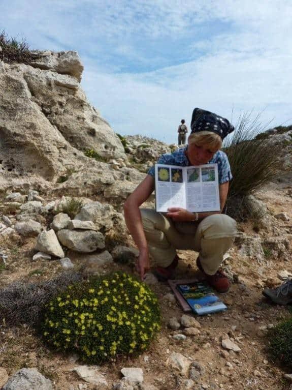 Reiseleiterin Jutta auf Menorca
