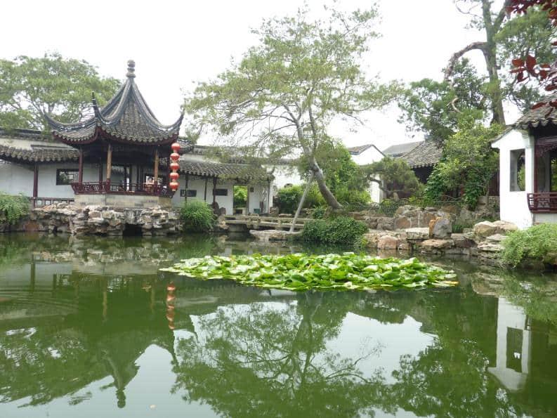 In Suzhou Garten der Netze