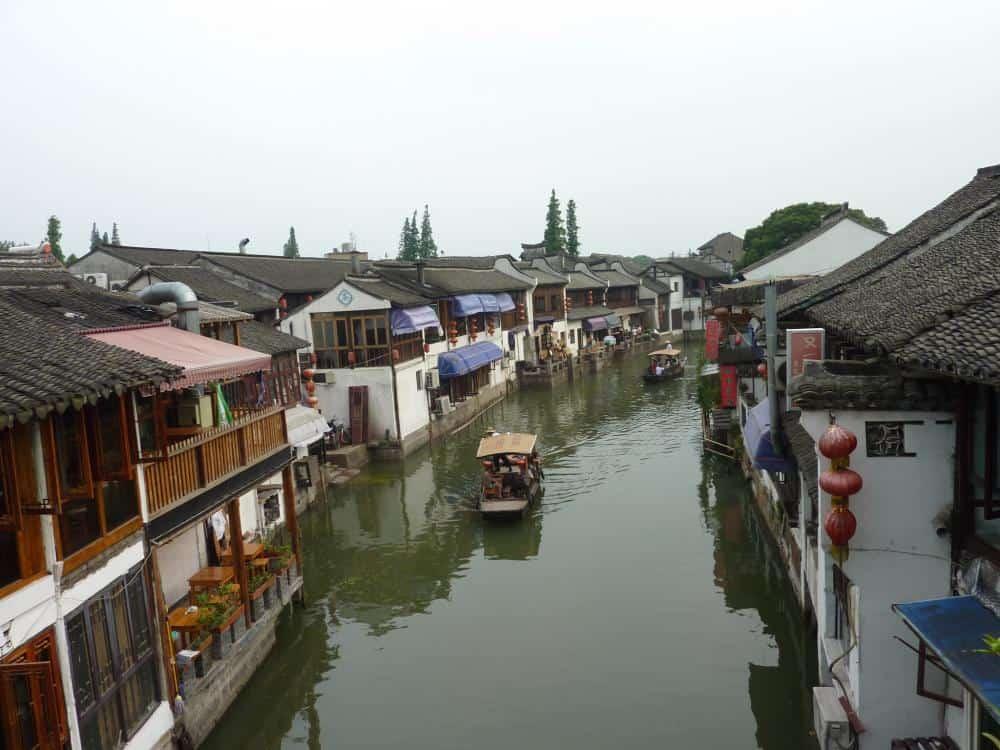 In der Wasserstadt Zhujiajiao