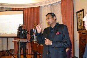 Botschafter SE Karunatilaka Amunugama Foto: Botschaft Sri Lanka Berlin