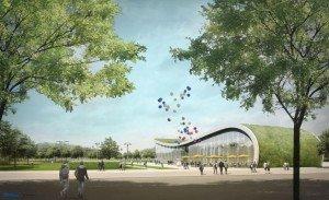 Modell einer Station ©LEITNER ropeways, KOLB RIPKE Architekten