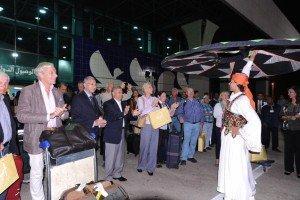 Empfang am Flughafen Luxor