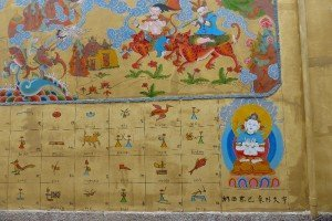 Schrift des Naxi-Volkes