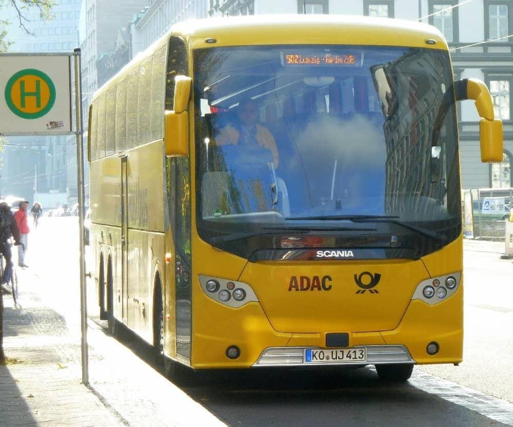 Postbus Berlin Leipzig