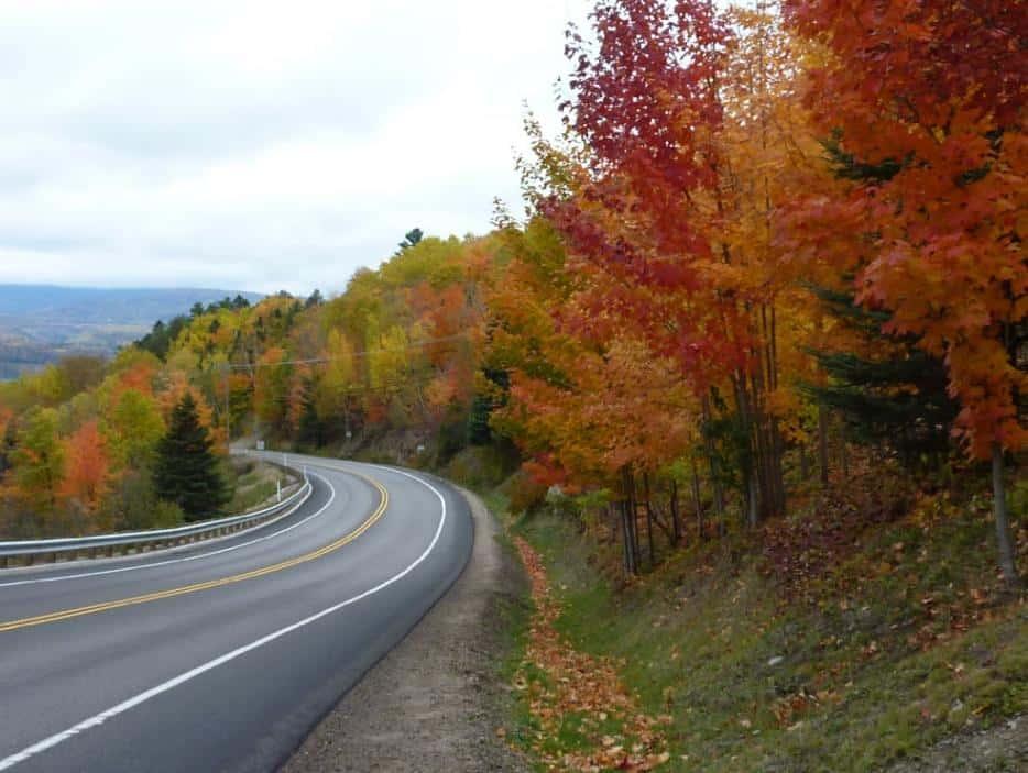 Herbstfarben in der Region Charlevoix