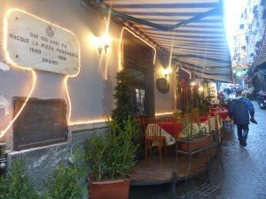 Geburtsort der Pizza in Neapel