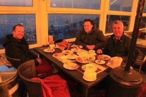Almaty – Captains Dinner in 1100 m Höhe