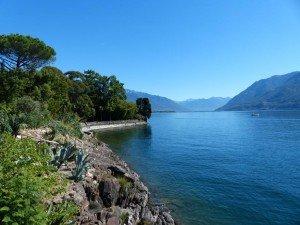 Insel Brissago im Lago Maggiore Foto: R. Keusch