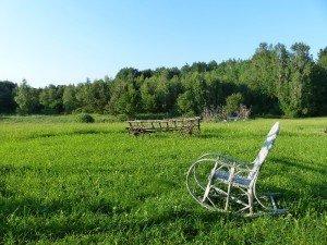 Der exklusiv ausgewählte Ort für Glamping heißt Glendoria nahe dem kleinen Ort Lukta und liegt 140 Kilometer von Gdansk entfernt Foto: R. Keusch