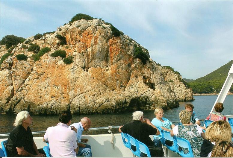 Bootsfahrt entlang der reizvollen Nordküste von Mallorca
