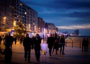 Strandpromenade in Ostende