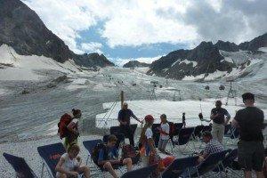Auf dem Stubaier Gletscher