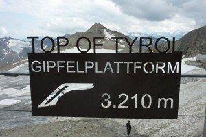 Aufstieg zur Gipfelplattform