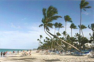 Kokospalmen-Traumstrände in Punta Cana
