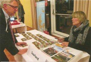 Stephan Dehe, Leiter des Sekretariats des Tourismus-Ausschusses im Deutschen Bundestag, im Gespräch mit Susanne Renk