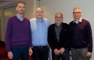 Neue CTOUR-Mitglieder sind seit Dezember 2013 Frank Grafenstein, Wieland Scharf, Bernd Prawitz und Lutz Schönfeld (v. l.)
