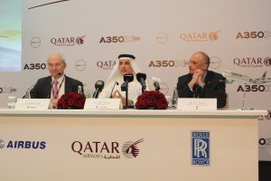 CTOUR vor Ort: Premiere des neuen Airbus A 350 XWB in Doha 2